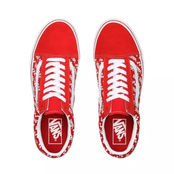 Primary Check Old Skool | Shop Classic Shoes | Red vans, Red