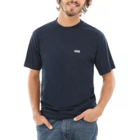 T-SHIRT VANS LEFT CHEST LOGO T Navy/White VN0A3CZENAV1