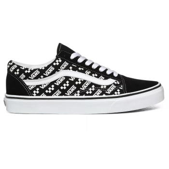U Old Skool Buty Vans (Logo Repeat)black VN0A4U3BTEZ1