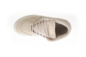 U Buty HALF CAB DX (LEATHER)WHI VANS