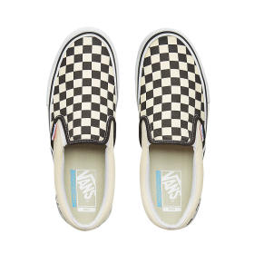 M Slip-On Pro CHECKERBOARD Black-White