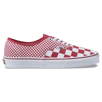 U Buty Authentic (MIX CHECKER) Chili Pepper VN0A38EMVK51 VANS
