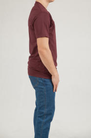 T-shirt Vans Classic Port Royale/white VN000GGGK1O1