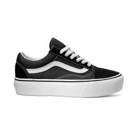 U Buty OLD SKOOL PLATFOR Black/White VANS