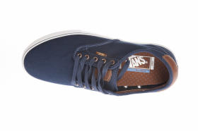 M Buty CHIMA FERGUSON Pr (Brushed Twill) Navy VANS