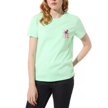 T-shirt Vans  Photo Op Green VN0A4DO14SG1