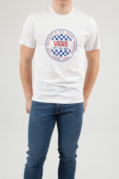 T-shirt Vans Og Checker Ss White VN0A49SYWHT1