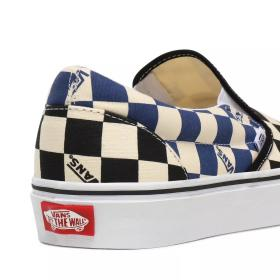 U BUTY VANS  Classic Slip-On (BIG CHECK) BLACK VN0A4U38WRT1