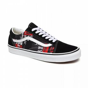 U Old Skool Buty Vans (Packing Tape)black VN0A4U3BWZ41