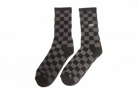 CHECKERBOARD CREW 9,5-13 Black/Charcoal