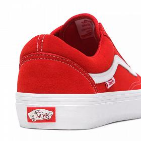 M Old Skool Pro Buty Vans (Suede) red/white VN000ZD4AJL1
