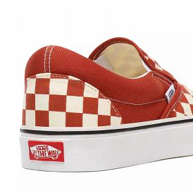 U Classic Buty Slip-On (CHECKERBOARD)Picante/True White Vans VN0A4U38WS21