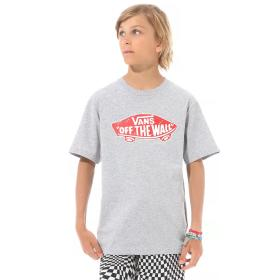 T-SHIRT DZIECIĘCY OTW LOGO FILL BOY ATHLETIC HEATHE VN0002R4O7H1