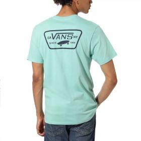 T-SHIRT VANS  FULL PATCH BACK S DUSTY JADE GREE VN0A3H5KYJC1