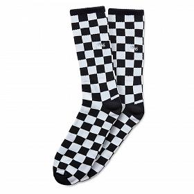 CHECKERBOARD CREW BLACK/WHITE