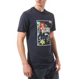 T-SHIRT VANS PRINT BOX SS DRESS BLUES VN0A312SYKB1