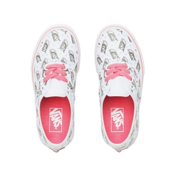 K Buty Authentic (UNICORN) True White/Strawberry Pink VN0A38H3VI91 VANS
