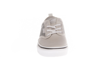 K Buty Atwood Slip-On (MESH/CANVAS) Gray/White VN0A45JTU2O1 VANS