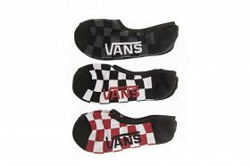 Skarpety Vans Classic Super No Red-white Check VN000XTTRLM1