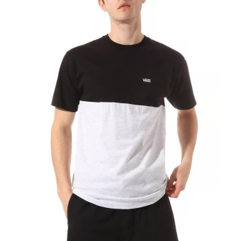 T-shirt Vans Colorblock Tee Ash Heather/black VN0A3CZDRP51