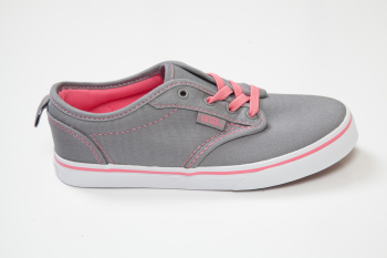 K Buty ATWOOD Low Slip-On Canvas Grey/Pink Lemona VANS