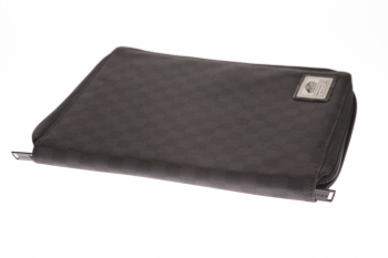IPAD CASE Black Checks