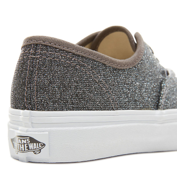 K Buty Authentic (Lurex Glitter) Black/True White VANS