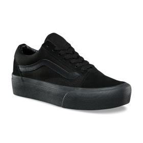 U OLD SKOOL PLATFOR BLACK/BLACK