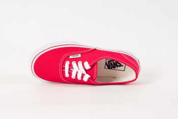 K Buty AUTHENTIC red VANS
