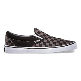 U Buty CLASSIC SLIP-ON Black/Pewter Ch VANS